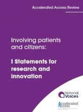Involving patients and service users: I Statements for research and innovation