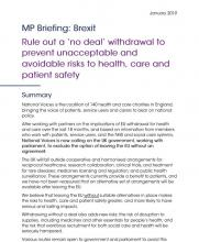 MP Briefing on Brexit
