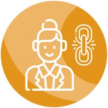 Link worker icon