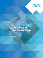 Five year forward view front cover