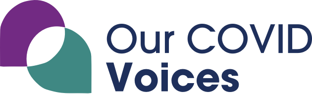 Our Covid Voices logo