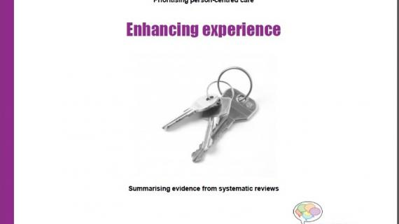 Enhancing experience of healthcare