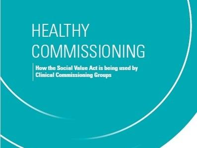 Healthy Commissioning report front cover
