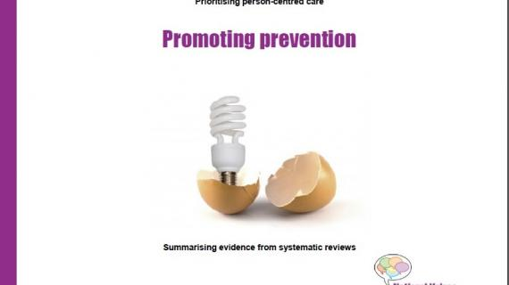 Promoting prevention